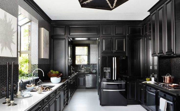 Lately However, Whether In Matte, Chalk, Or High Gloss, The All Black  Kitchen Has Been Making Headlines And Home Owners Are Taking Notice.