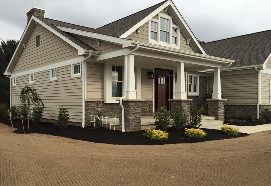 New Landscape and Seeding