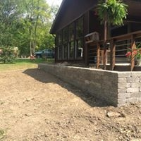 Building a Wall for Flower Bed
