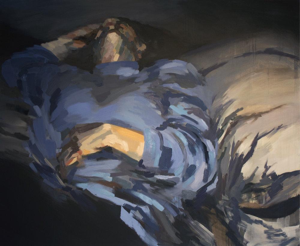 Retrospect   5' x 4', oil on canvas  2017, available