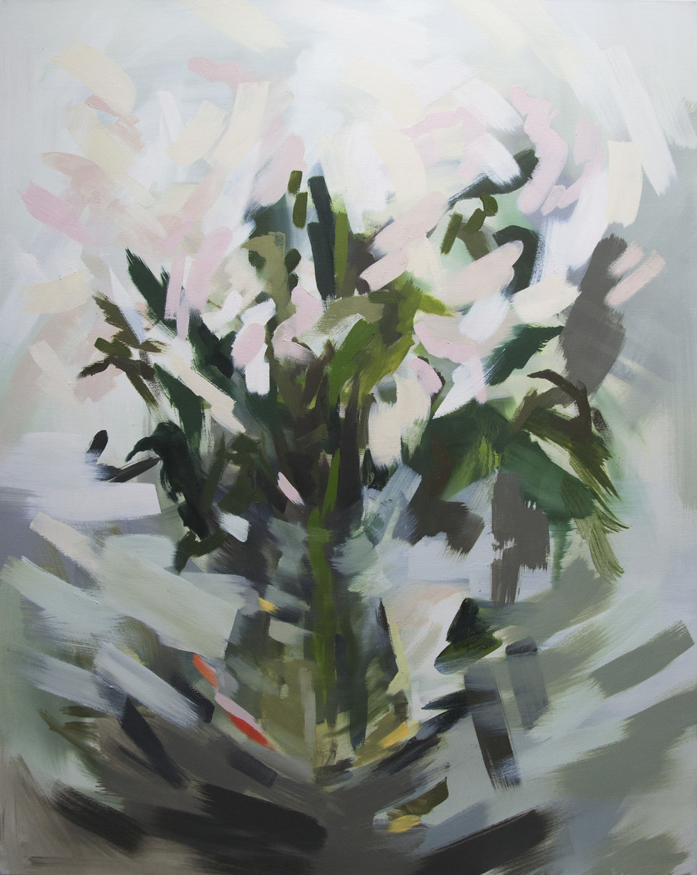 Canopy   4' x 5', oil on canvas  2018, sold