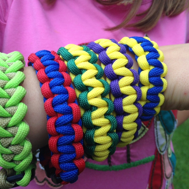 They might learn to make Survival Bracelets to give them vital tools in the wild...