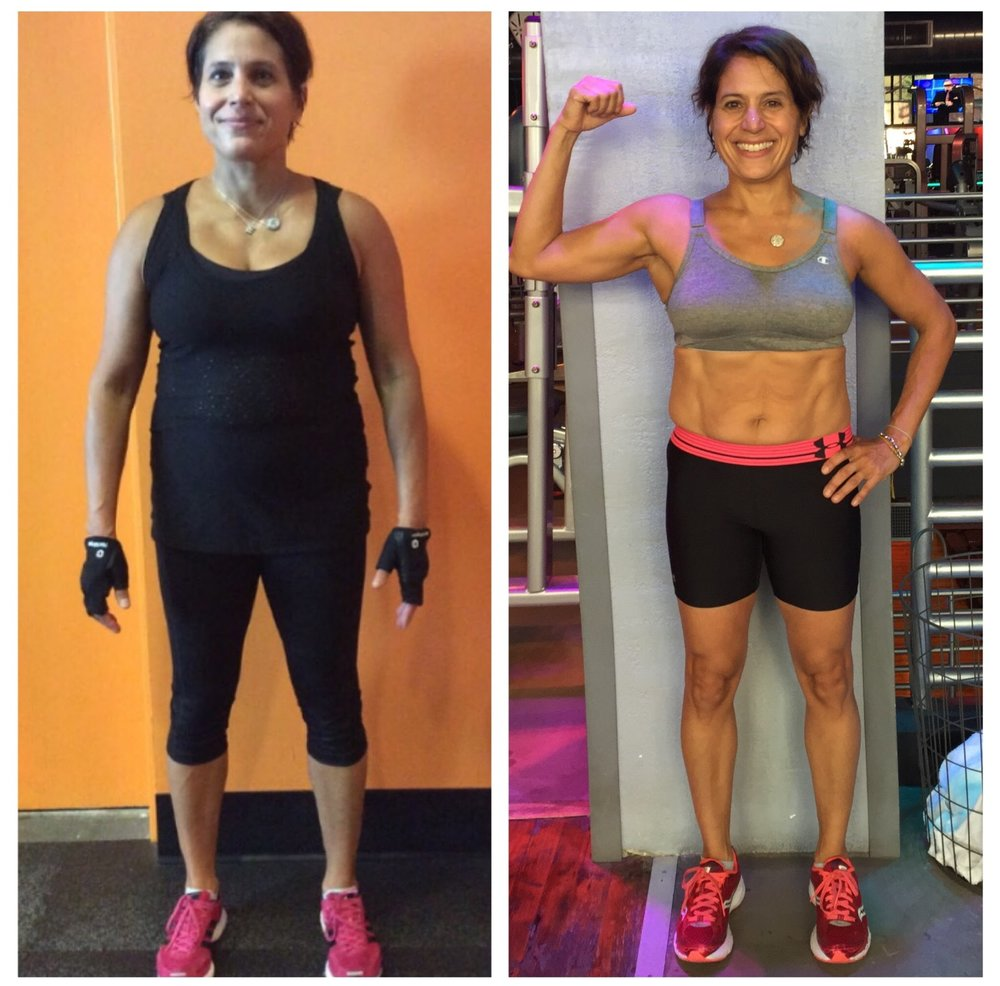 Elizabeth B. - I've been training with Lena for over a year and a half and in that time, I've lost over 17 pounds and gone down a couple of sizes. I've worked with many trainers over the years but she's the first person I've worked with who's tracked my nutrition, body weight and workout routine and has tailored it so that I achieve optimal results. Her workouts are fun, varied and demanding! As a trainer and competitor, she works harder than anyone I know and that serves as an inspiration to me. One's physical body is an extension of one's inner strength and resolve and Lena has put me back in touch with that. I'm forever in gratitude for her dedication and motivation. Team Lena all the way!