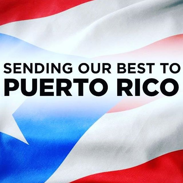 My thoughts and prayers are out to my family in Puerto Rico and anyone that will be affected by this hurricane. 🙏❤️ Stay Safe!