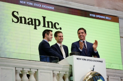 Snapchat founders are newly minted billionaires on  March 2nd, 2017