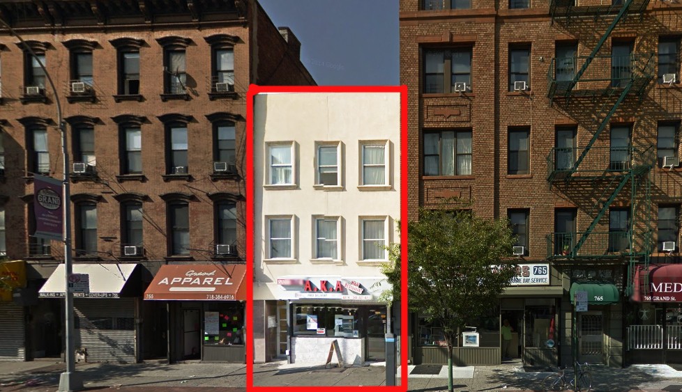 759 GRAND STREET (BROOKLYN)    Type:  Retail Space For Rent   Space:  Ground Floor   Size:  2,500SF + 600SF BSMT   Rent:  Upon Request