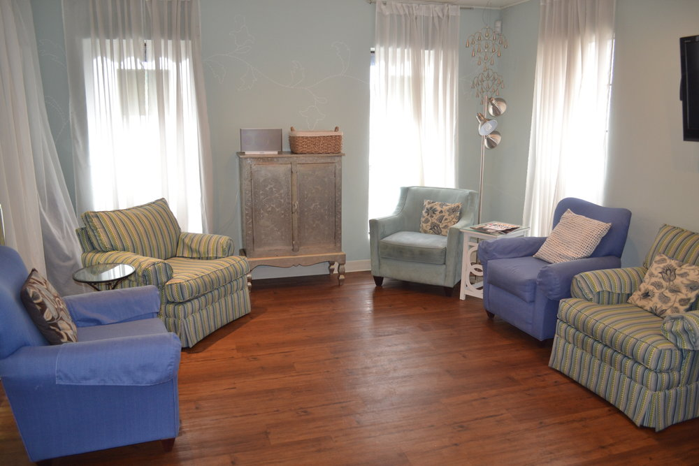 Our Pedi living room!    Great for Parties