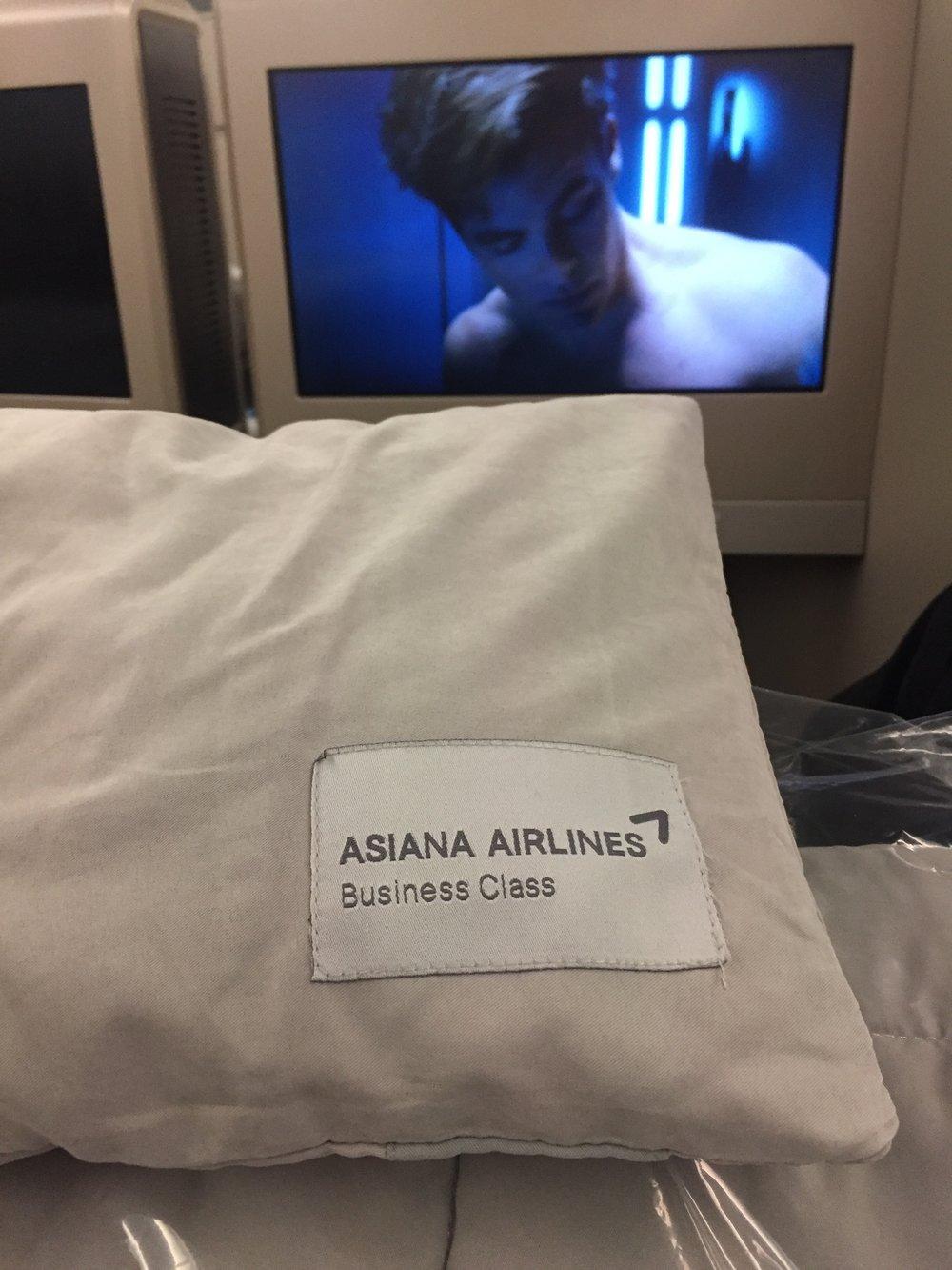 Business class bedding