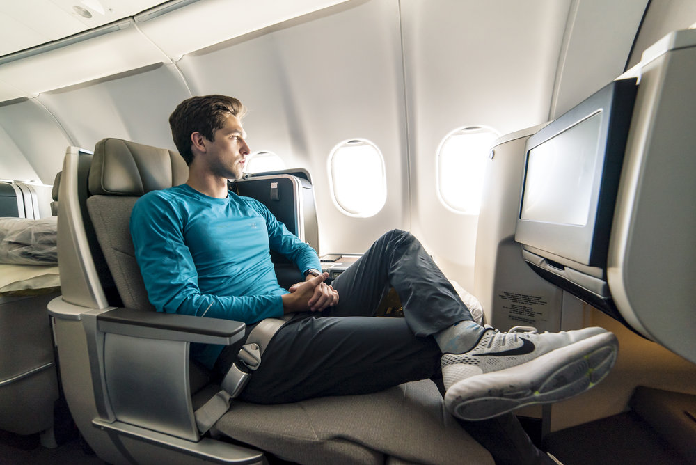 Flight Review - Click to see a comprehensive review of TAP Portugal's new A330 Business Class Seat