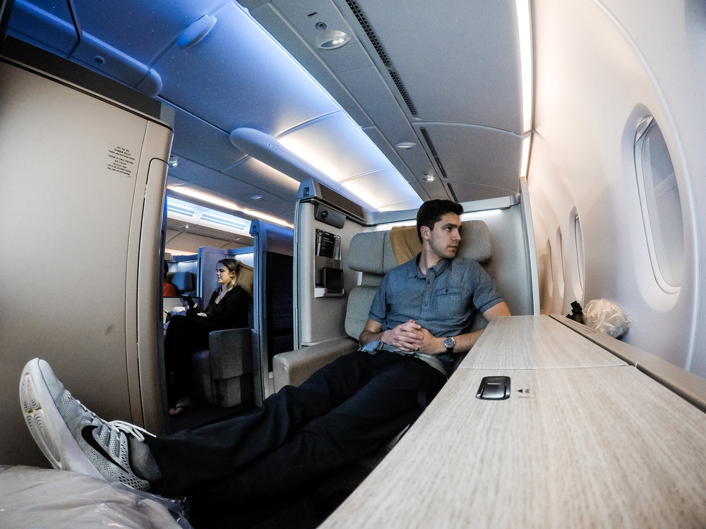 Flight Review - Checkout a comprehensive review of Asiana Airlines A380 Business Class with a sneak peak at First Class!