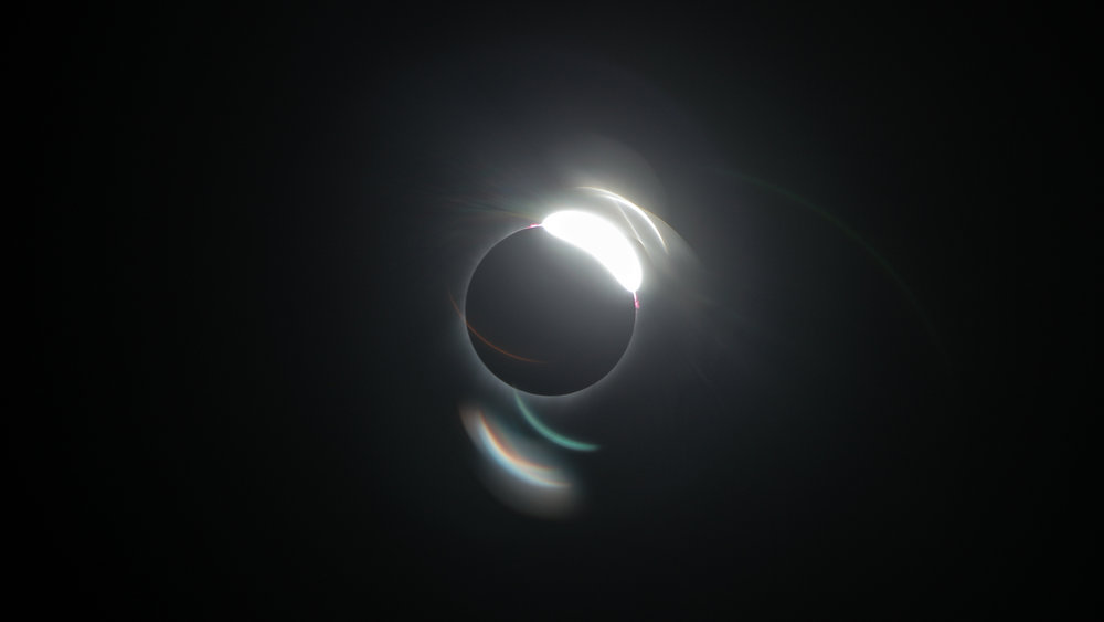 Birthday experience during the Total SOlar Eclipse