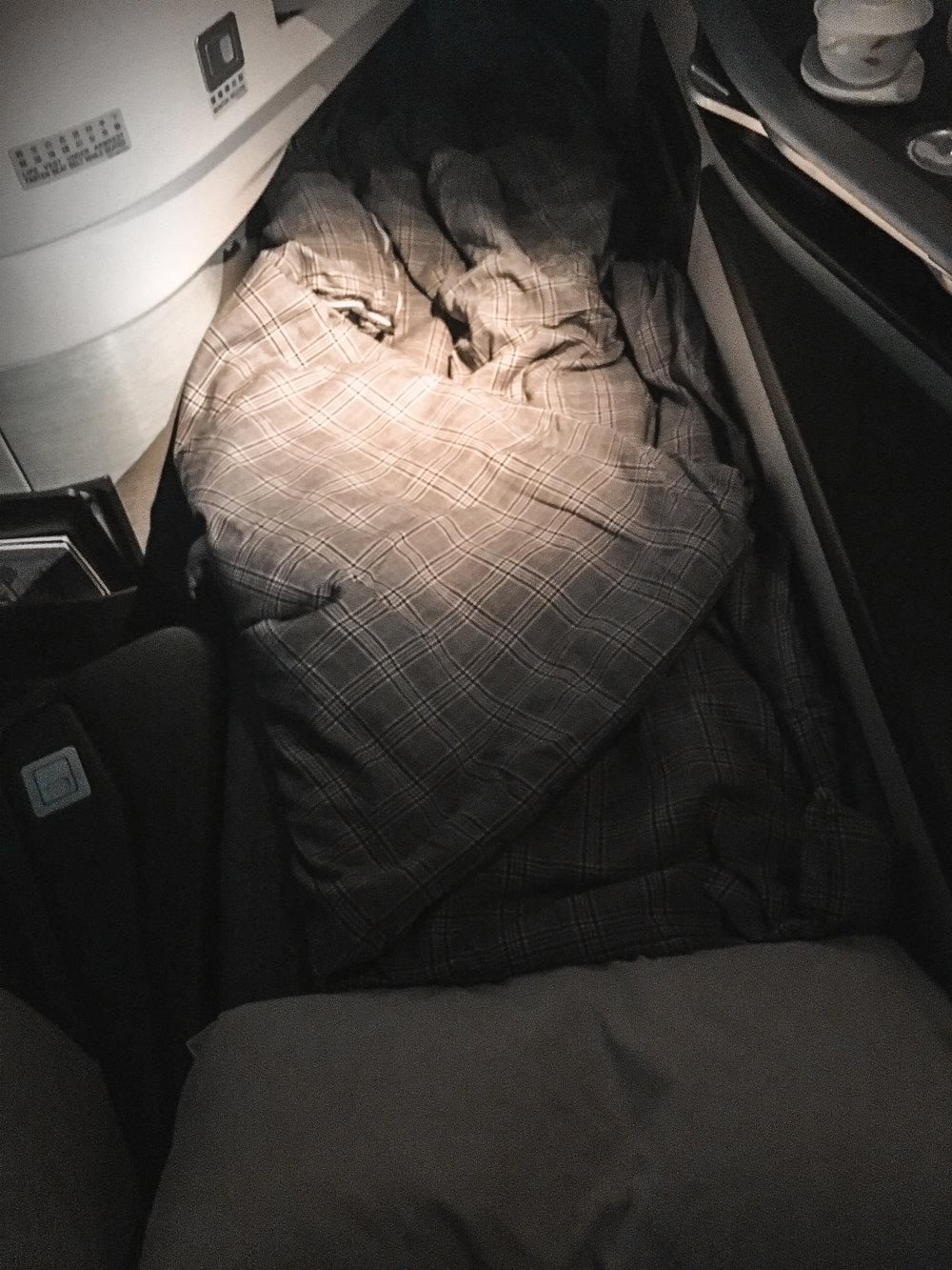 EVA Business Class Bedding