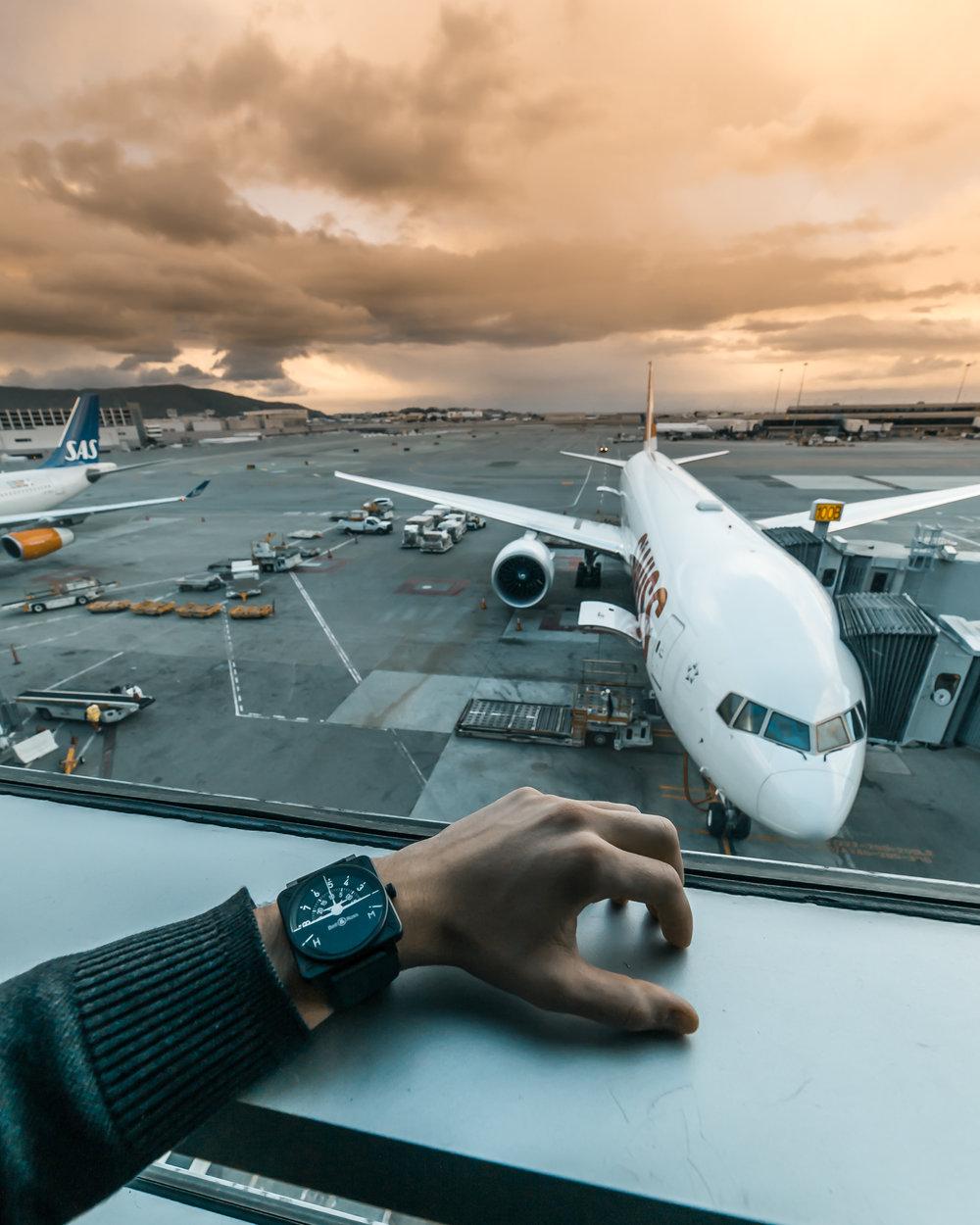 Swiss 777 at San Francisco