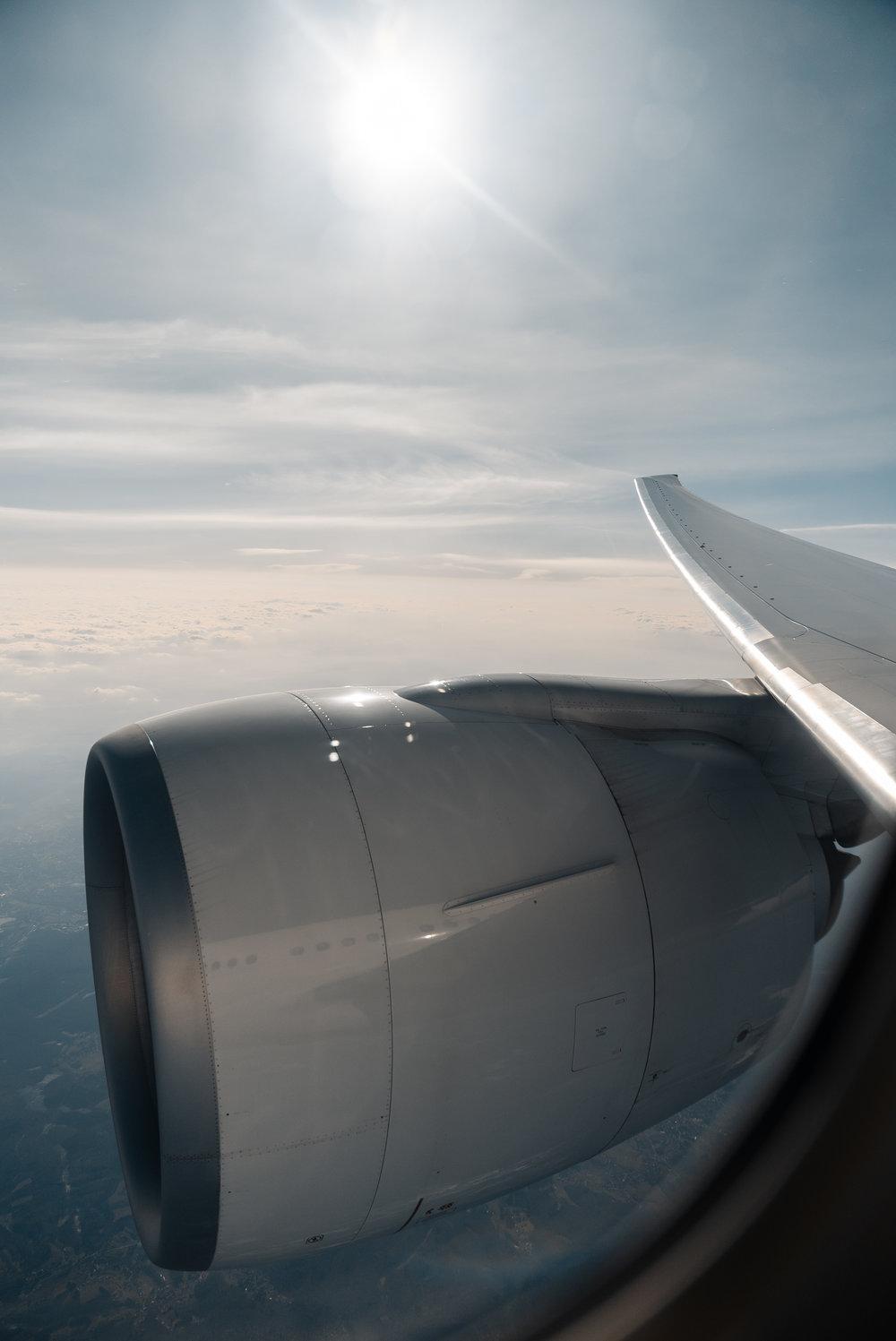 Swiss 777 over zurich