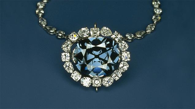The Hope Diamond. {Image from GIA.edu}