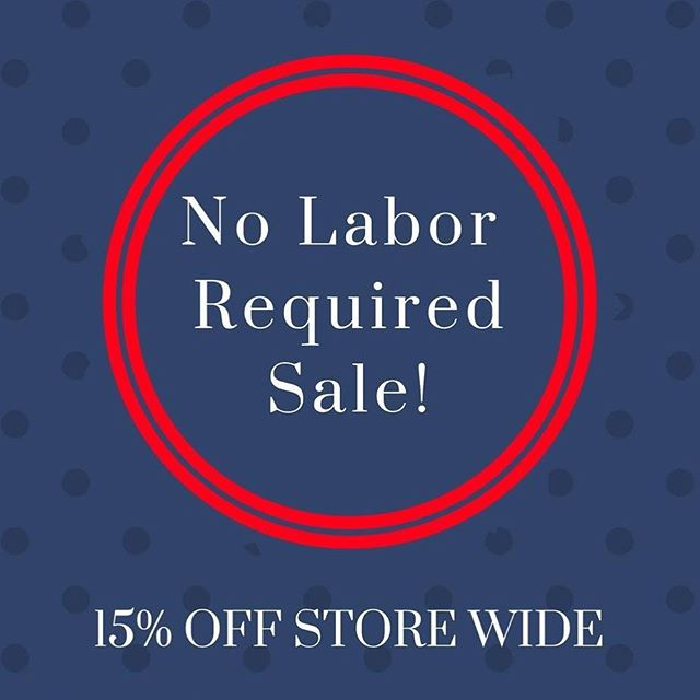 Stop on in! 💍💎 #kilmarnockva #burkesblings #mainstreetshopping #labordayweekend #labordaysale