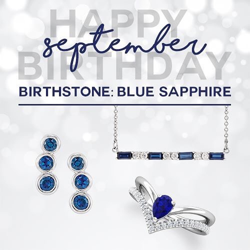 Happy Birthday September babies! #sapphire #September #shoplocalva #northernneck #burkesblings