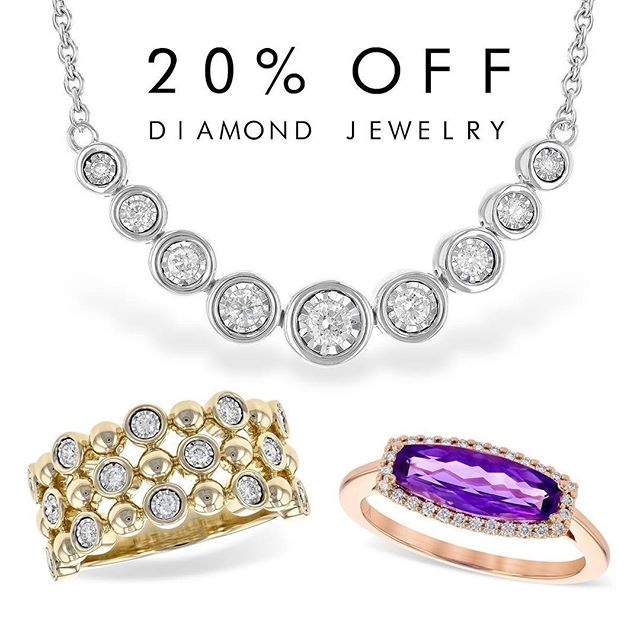 No joke.. 20% off all our diamond jewelry for the month of April!  #BurkesFineJewelers #BlingBling #BurkesBling #ShopLocalVA #DiamondsAllMonth