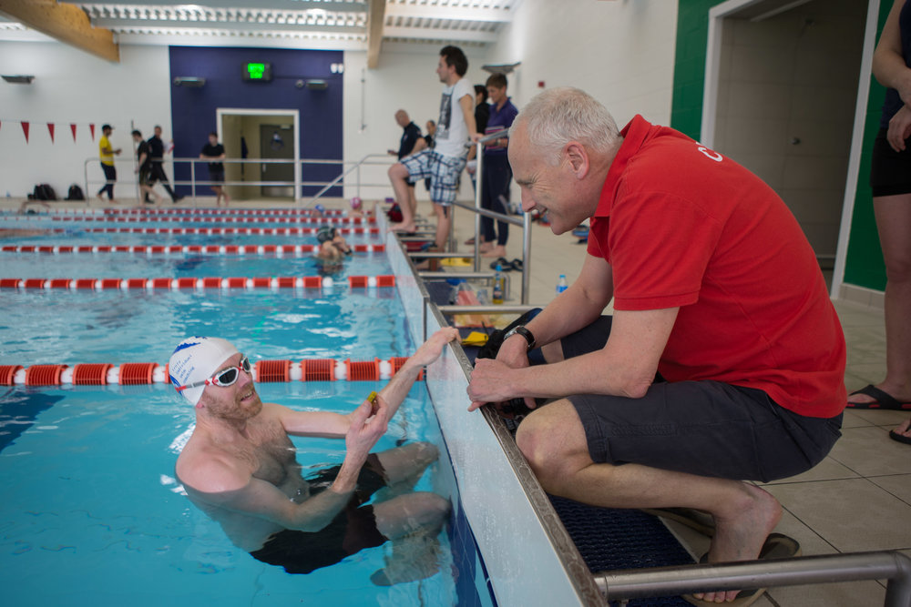 One to one swim analysis - with thanks to Adam from Swim Smooth