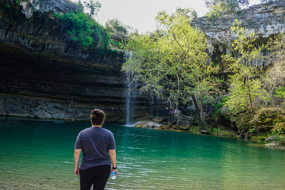 Hamilton Pool in Dripping Springs, Texas