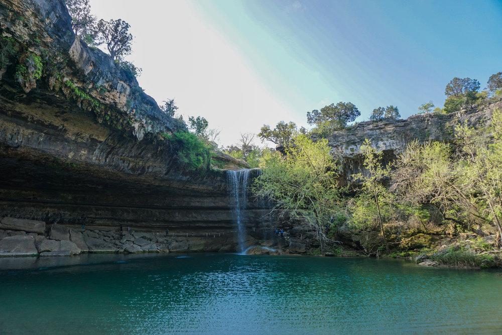Hamilton Pool Dripping Springs, Texas
