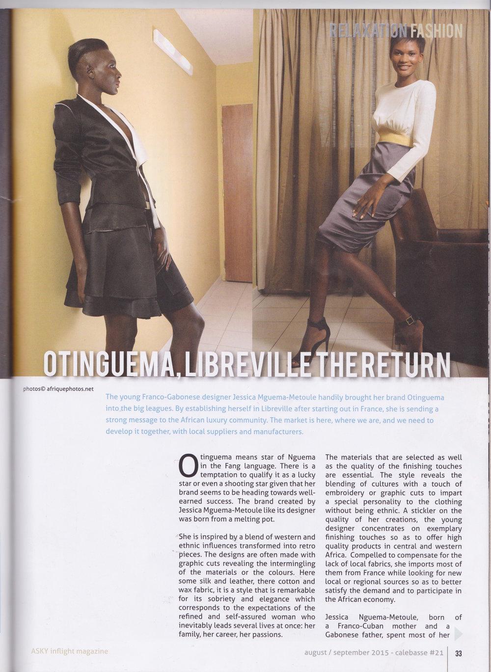 ASKY Calebasse Mag - Oct. 15