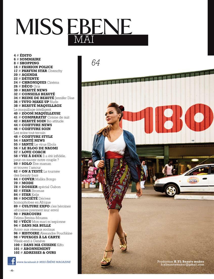 Miss Ebene Magazine