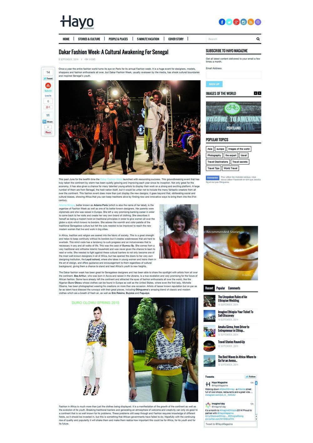 Hayo Webzine