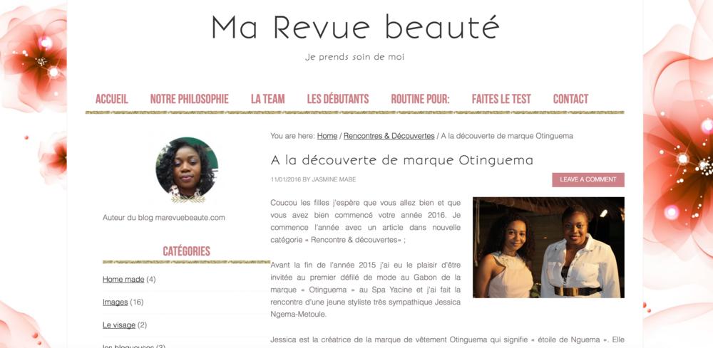 Marevuebeaute.com - Jan. 16