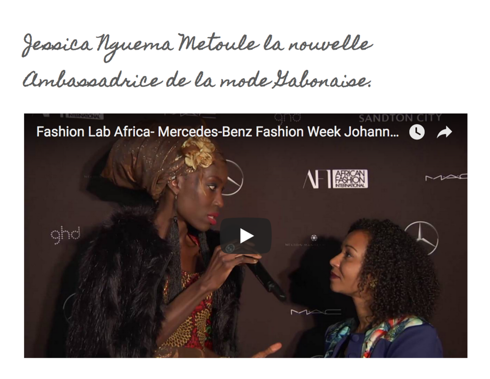 Fashion Lab Africa - Aug. 16