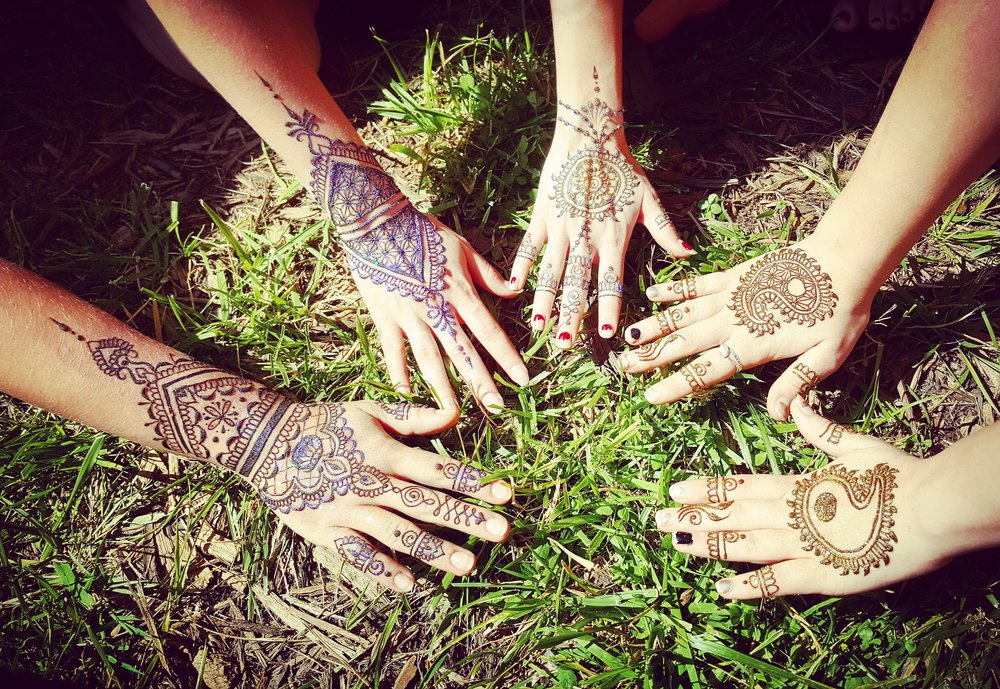 Henna Parties - $100 for the first hourwith a multiple hour discount