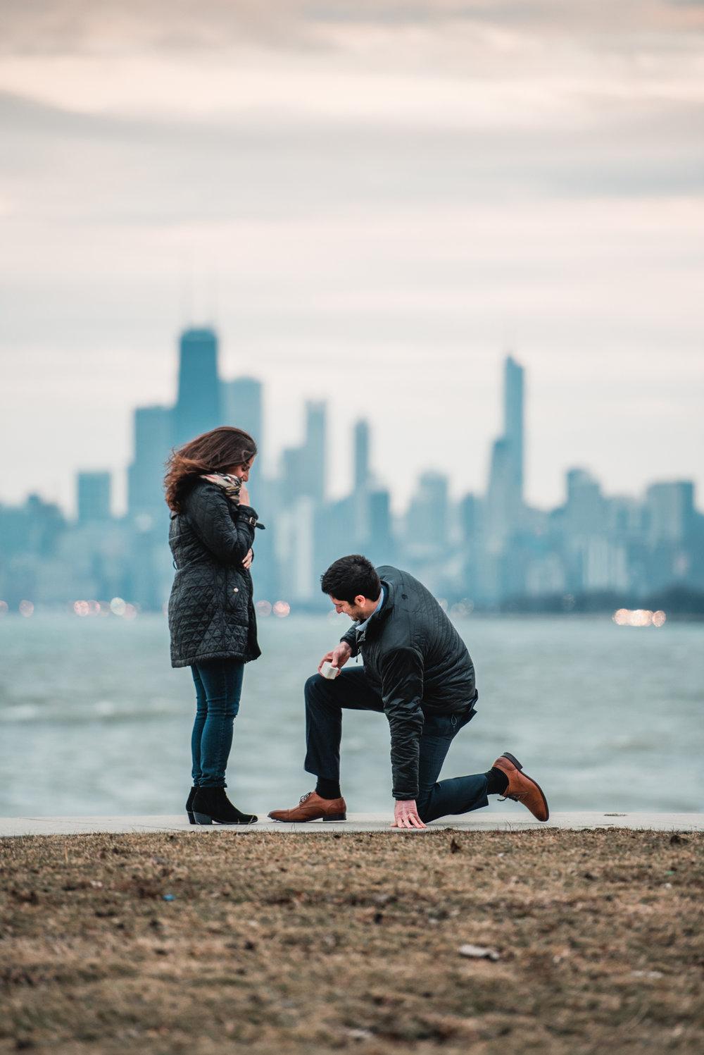 heather hackney photography chicago surprise proposal franny and josh montrose harbor--13.jpg