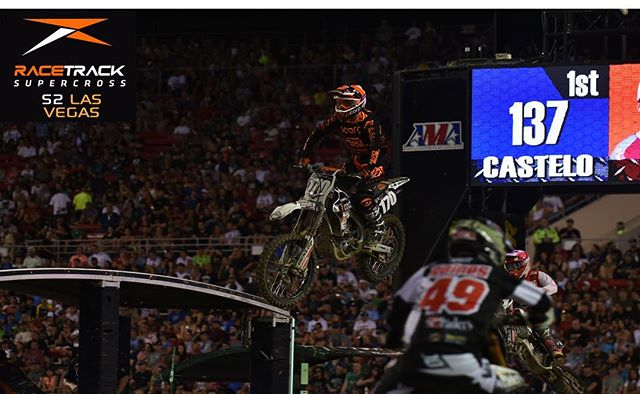 Episode link in bio....Salt Lake City gave him a top 10 finish and many fans were wondering if he could continue this pace for the season Finale in Las Vegas. Although he had some issues with the Hole Shot device, Martin impressed the team owners, crew and fans worldwide with his performance in this episode of Racetrack Supercross Las Vegas.  #fuelracetrack @skidsteersolutions @eterra_usa @racetracksupercross @twisteddevelopmentracing @yamahamotorusa @fmf73 @ridedunlop @enzoracingkyb @jepistons @matrixconcepts @avidmx @twin_air @motionpro @cometicgaskets @hinsonracing @galferusa @tagmetalsracing @tmdesignworks @worksconnection @motoseat @radikalracing @canvasmx @deftfamily @gaerne @btosports @xbrandgoggles @houseofmotorcycles @therideofmylife @rynopower @racerxonline @vitalmx @dirtridermag @motocrossactionmag @vpracingfuels @monsterenergy @supercrosslive @mcastelo_ @Noah_McConahy @michael_leib @blake_wharton #vortexcdi #worldwidebearing #jameslitho #sx #supercross #moto #sport #bike #sxonfox #sxlife #supercrosslive #houseofmotorcycles