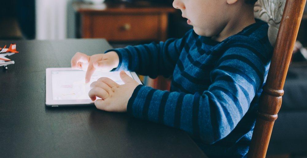 children iPad development
