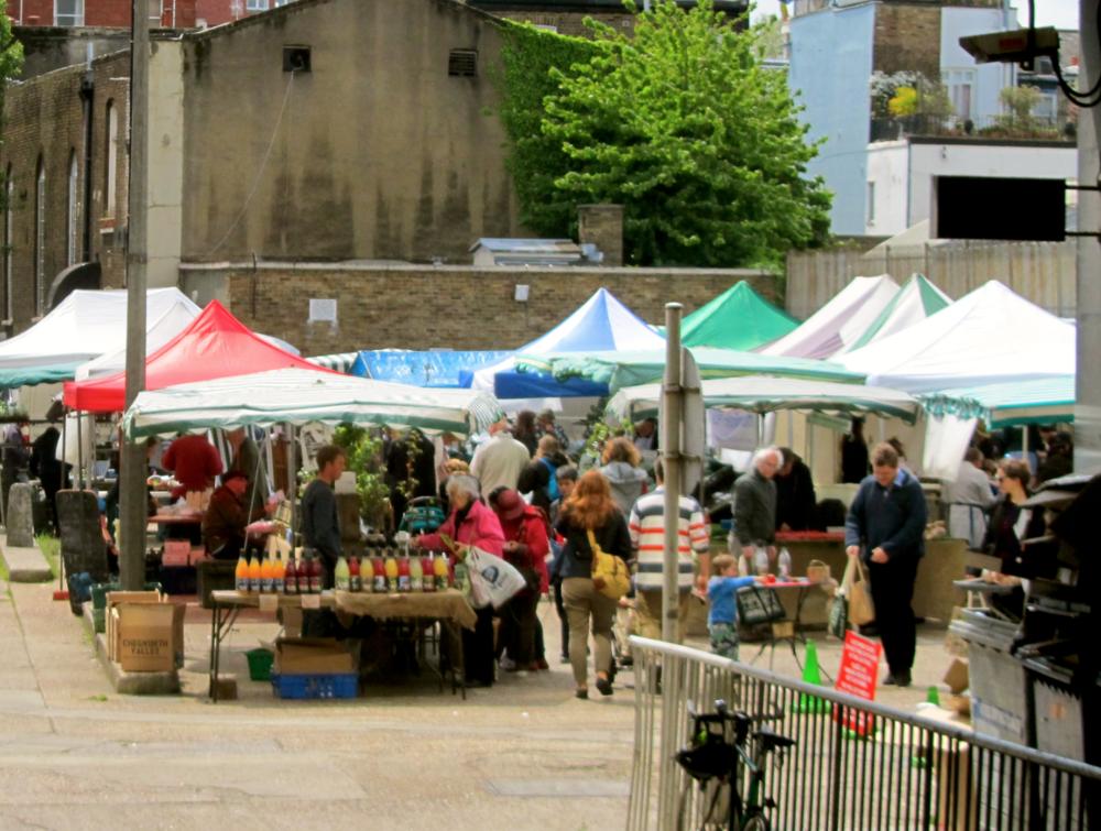 notting hill farmer's market organic