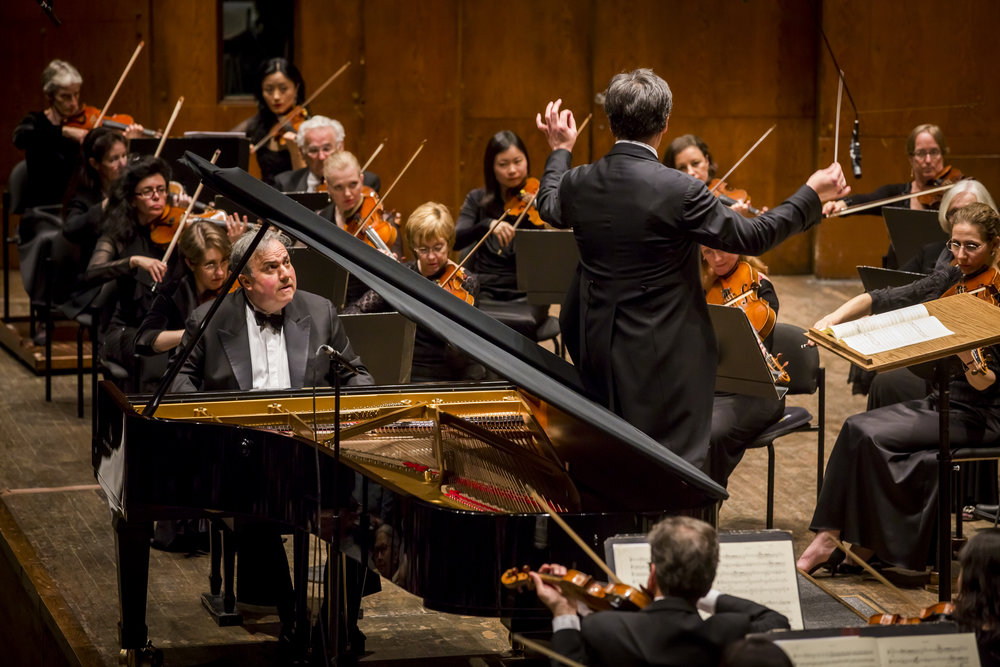 Led by Alan Gilbert,  The Beethoven Piano Concertos  (June 2014) spotlighted Artist-in-Residence Yefim Bronfman in the complete Beethoven Piano Concerto cycle and the Triple   Concerto (with Principal Cello Carter Brey and Concertmaster Glenn Dicterow) alongside World Premieres by Anthony Cheung and Sean Shepherd, commissioned by the Philharmonic as part of The Marie-Josée Kravis Prize for New Music.