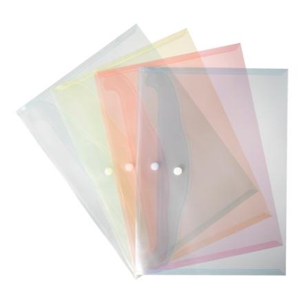 Plastic document holders