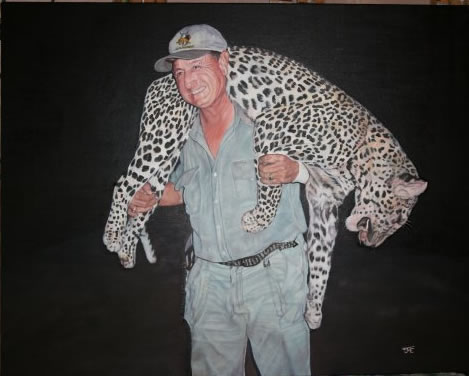 Bill Moore in Africa