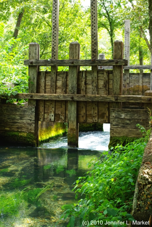 Alley Spring Sluice