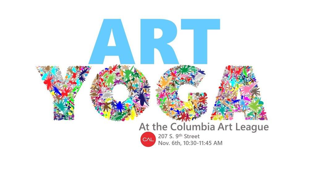 art yoga columbia art league