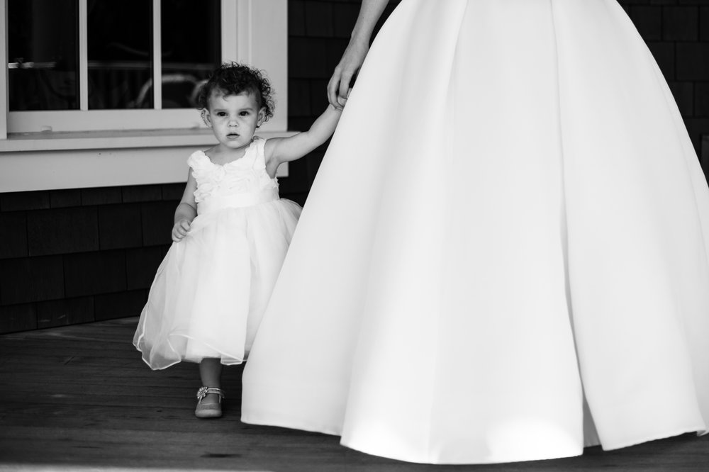 flowergirl kiawah island golf club wedding