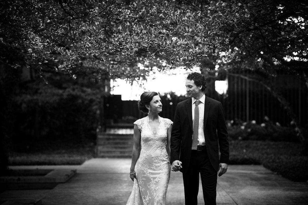 Bride and groom photos before their Morgan Manufacturing wedding in Chicago.