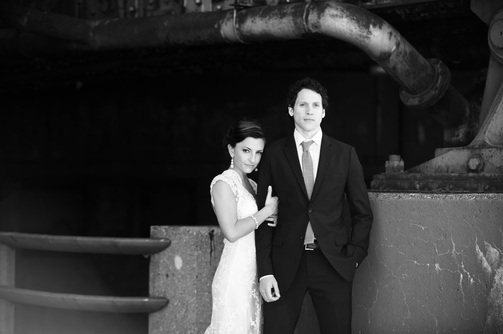 Wedding photography in Chicago's West Loop.