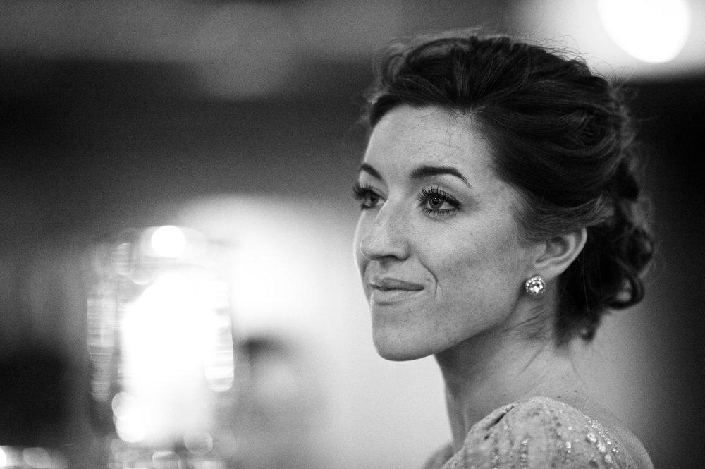 Documentary wedding photo at Morgan Manufacturing