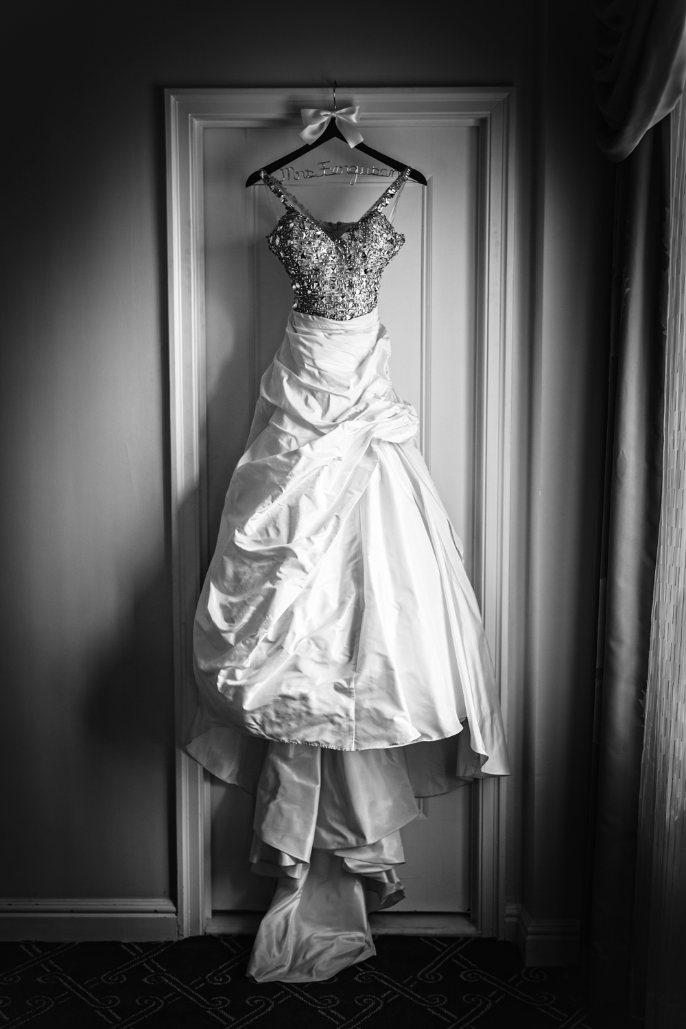Bridal gown at Palmer House Chicago