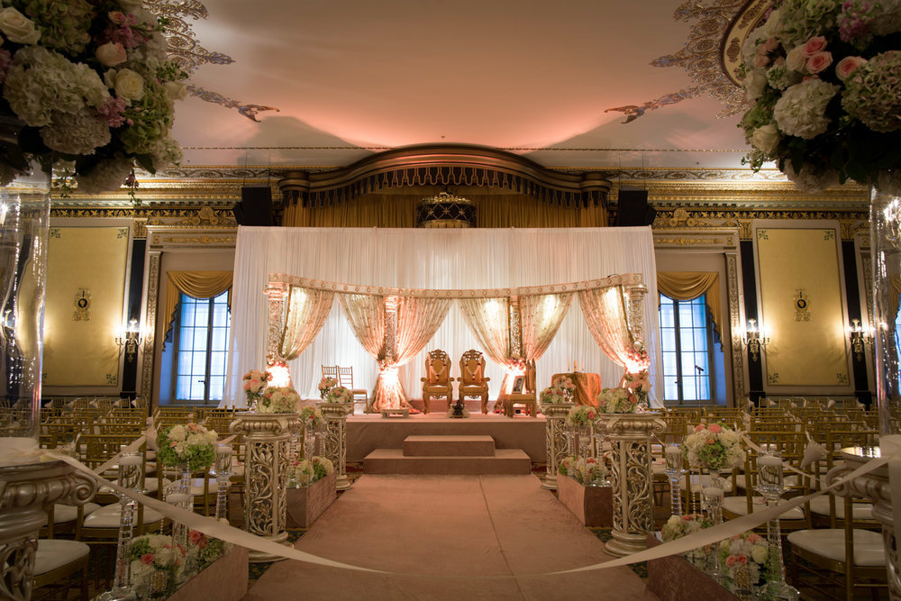 Palmer House Chicago Indian Wedding Ceremony