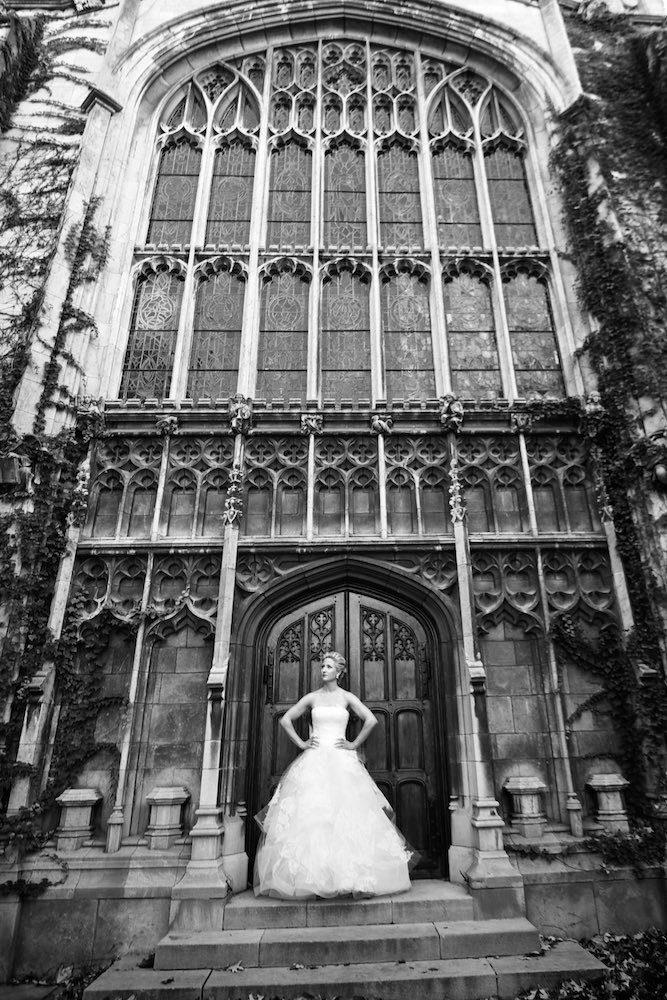 Bridal portrait in Chicago