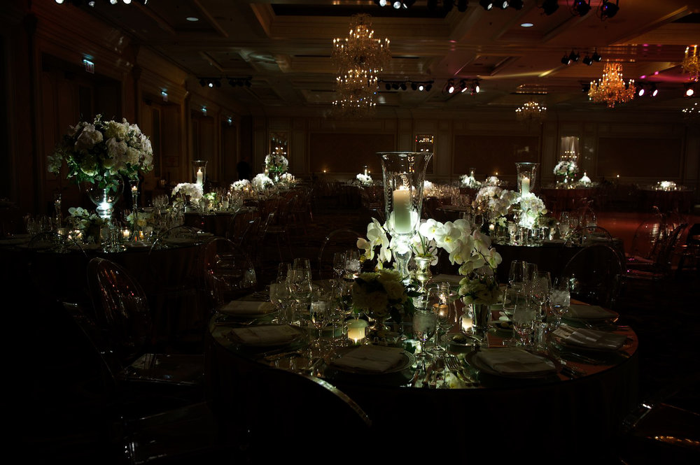 Wedding reception at Four Seasons Chicago