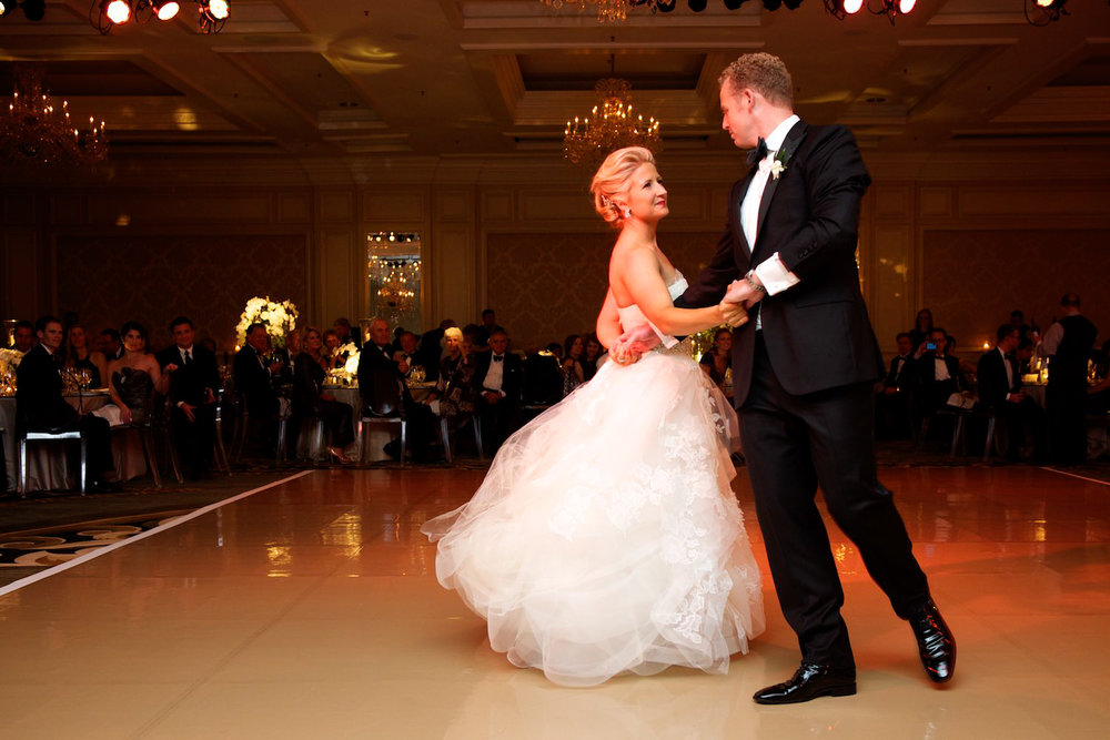First dance at Four Seasons Chicago Wedding