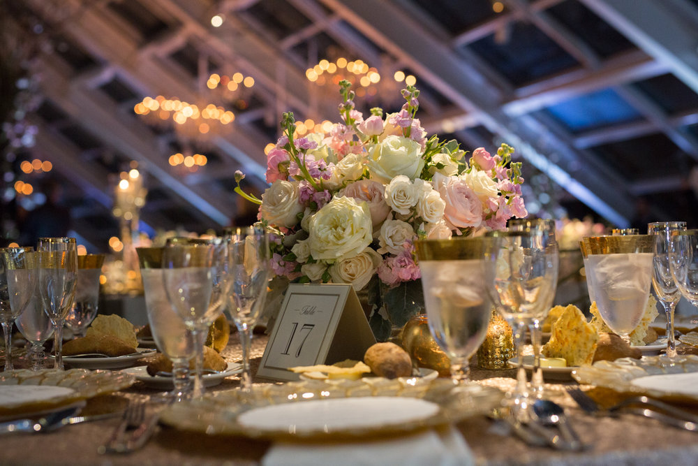 HMR Designs wedding decor at Adler Planetarium Chicago